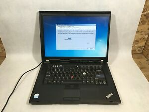 Lenovo ThinkPad R500 Celeron 575 2.00 GHz 4 GB Ram 80 GB HDD Win 7- FT