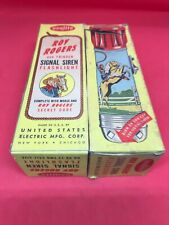 Vintage Original Roy Rogers and Trigger Flashlight with Signal Siren