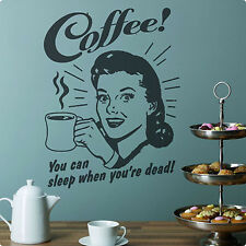 Coffee Wall Decals