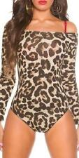 Wäschegröße 38 Damen-Bodys aus Baumwolle ohne Muster