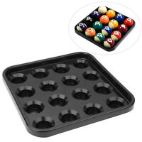 Plastic Pool Billiard Ball Stand Tray Holder 16 Balls Storage Tray Pool Tool