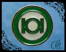 DC Comics Green Lantern small metal and enamel Pin Badge Free UK post.