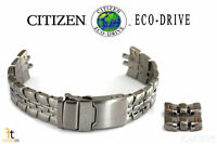 Citizen Eco-Drive S021260 22mm Original Titanium Watch Band Strap AT0100-51A