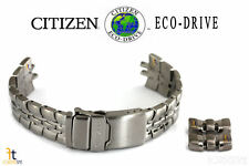 Citizen Eco-Drive S021260 22mm Original Titanium Watch Band Strap