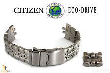 Citizen Eco-Drive S021260 22mm Original Titanium Watch Band Strap