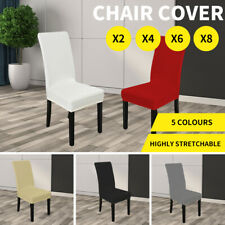 Dining Chair Covers Stretch Living Room Seat Cover Elastic Washable Slipcover