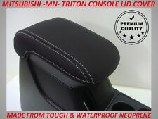 MITSUBISHI TRITON MN NEOPRENE  CONSOLE LID COVER (WETSUIT MATERIAL)