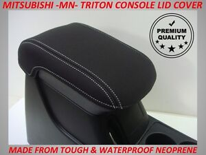 NEOPRENE CONSOLE LID COVER FITS MITSUBISHI TRITON MN AUGUST 2009 - MAY 2015
