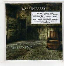 (GB773) Darren Parry, So Into You - 2014 DJ CD