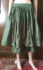 STEFANEL skirt Woman green color, size 40   Gonna Donna  colore verde, taglia 40