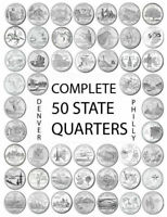 1999 - 2008 P Choose Any State Quarters From The Philadelphia Mint Rolls