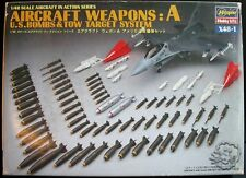 Hasegawa 1/48 Aircraft Wapons A (US Bombs & Tow Target) #X48-1 - incompleto