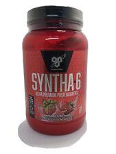 NEW BSN, Syntha-6 Lean Muscle Protein Powder, Strawberry Milkshake 2.91 lbs