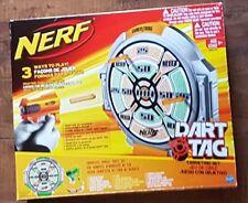 NERF Dart Tag Target ORANGE BOX SET (2009): Target + Blaster + Darts + Glasses