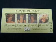 Tuvalu 1998 #762 MNH Souvenir Sheet - Princess Diana Memorial - Free Shipping