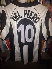 DEL PIERO ITALY JUVENTUS 1997 1998 SIGNED 97 98 NO MATCH WORN ISSUED ZIDANE