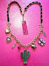 Betsey Johnson Cactus Necklace