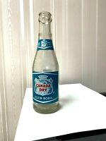 Vintage Soda Pop Beverage Bottle -  Canada Dry Club Soda