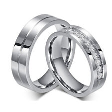 Fashion Band Tungsten Carbide Size 5-12 Men Women's Wedding Engagement Ring Gift