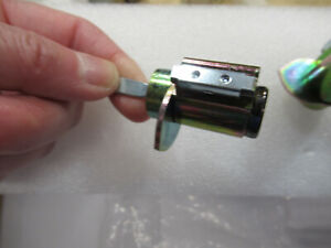 Weslock 1400 series Cylinder with cam #14599 for interconnected handlesets