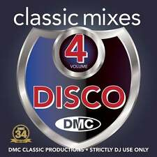 DMC Classic Mixes - Disco Vol 4 Music CD Megamix Mini Mix DJ Disc