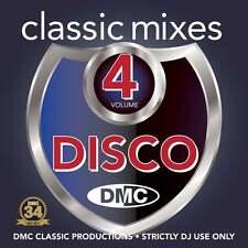 DMC Classic Mixes - Disco Vol 4 Music CD Megamix Mini Mix DJ Disc