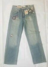 Boys Levis 569 Loose Straight Denim Jeans 18Reg Size 29x29 Camo Accents
