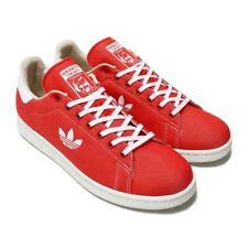 Adidas Originals Stan Smith Mens Shoes Canvas Red B37894 Size 10 NWT