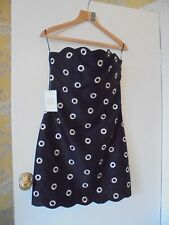OSMAN BEAUTIFUL CORSET DETAIL SILK COCKTAIL DRESS SIZE 10 BNWT