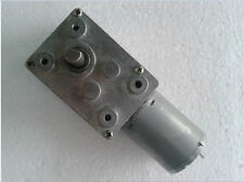Dc 24V Output Speed 130Rpm Speed reducer High Torque Dc Worm Geared Motor x1