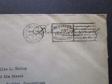 US 1934 House Min Leader B. Snell Signed Cover / Light Creasing - Z7391