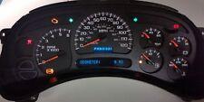 2003 to 2006 GMC YUKON, XL, INSTRUMENT CLUSTER EXCHANGE SERVICE 2004 2005