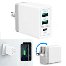 NEW 3Port Fast Quick Charge Wall Charger Power Charging Adapter for LG V20 US996