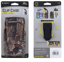 Niteize Camo Vertical J Clip Heavy Duty Case fits Motorola G5 Plus with a cover