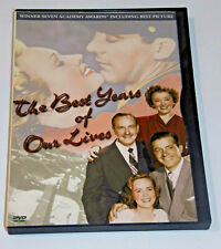 The Best Years of Our Lives Dvd Harold Russell Fredric March Dana Andrews - Used