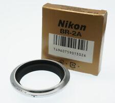 Nikon Br2a Lens Reversing Ring 52mm Official Japan IMPORT