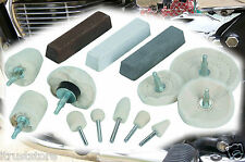New Aluminum Buffing Polishing Kit Billet Buffer Polisher Motorcycle Auto Detail