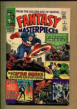 Fantasy Masterpieces #3 - G.A Torch! 1st 25 Cent Giant! - 1966 (Grade 7.0) Wh