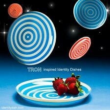 TRON inspired Identity Disc Dinnerware Plates - Set of 2 - A&R EXCLUSIVE
