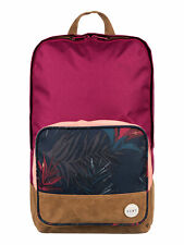 Roxy Women's Pink Sky Backpack Bag (BTN8) School Travel College RRP- £30