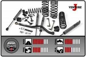 "2.5"" Suspension System J-Venture 07-18 Jeep Wrangler JK 4 Door RHD JKS106K JSPEC"