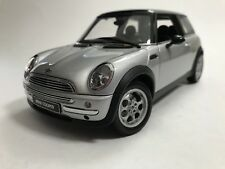 Mini Cooper Millenium Mini Silver 1/18 AUTOart Damaged READ !
