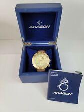 Aragon Gauge 9100 Automatic Divers Watch 55mm Miyota Rare Power Reserve - New