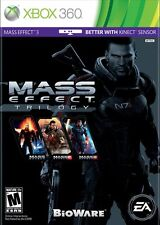 Mass Effect Trilogy (Microsoft Xbox 360, 2012) NEW Factory Sealed Free Shipping