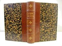 Philosophie. Jules Simon. Le devoir  Portrait + ex-libris, 1854