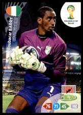 Panini Brazil 2014 Adrenalyn XL Boubacar Barry Ivory Coast Base card