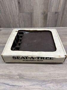 Vintage Seat-A-Tree Portable Seat In Original Box