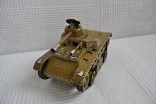 Tank Joustra en tôle - Années 50
