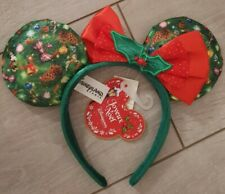 Serre-tête / Headband Disneyland Paris MINNIE SAPIN / Christmas Tree SUB