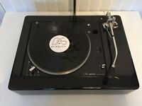 "LENCO L75/78 Piano Black XL 12"" Plinth Zarge (without turntable!)"